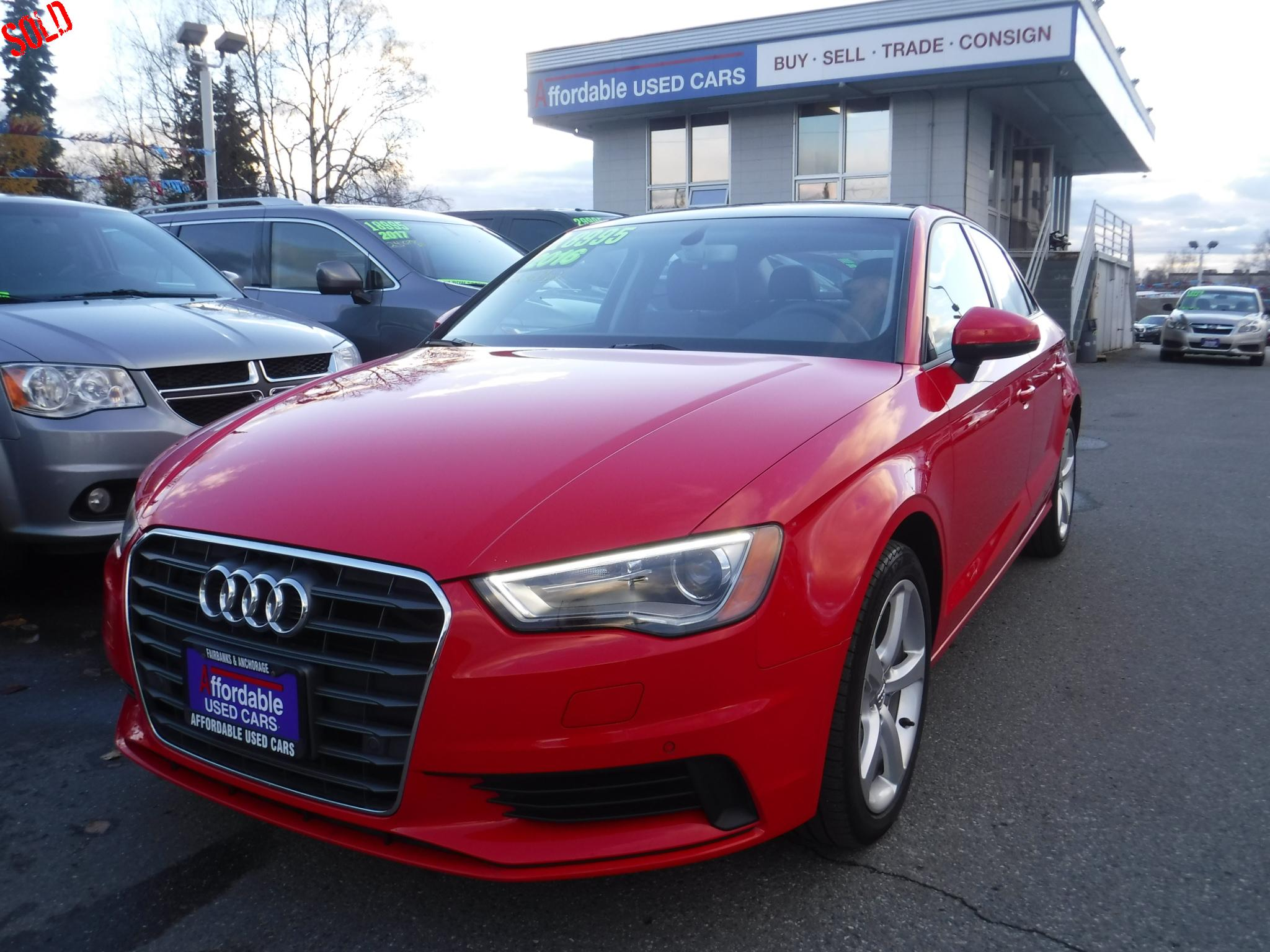 Affordable Used Cars Anchorage >> Affordable Used Cars Inc Anchorage 2016 Audi A3 Premium