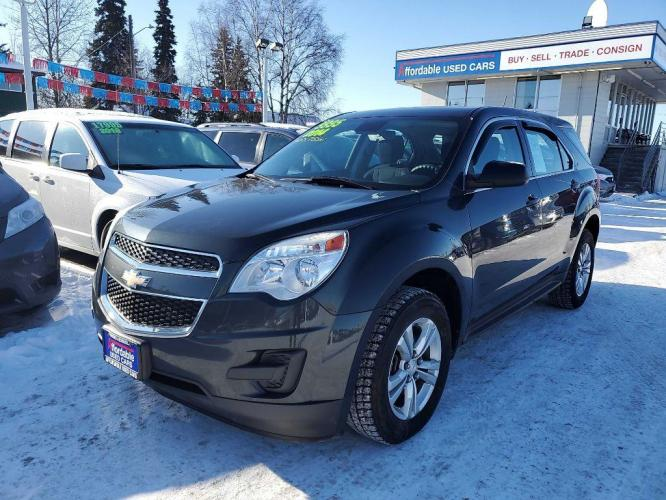 2014 GREY CHEVROLET EQUINOX LS (2GNALAEK3E6) with an 2.4L engine, Automatic transmission, located at 929 East 8th Ave, Anchorage, 99501, (907) 274-2277, 61.214783, -149.866074 - Photo #0