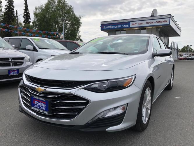 2019 SILVER CHEVROLET MALIBU LT (1G1ZD5ST2KF) with an 1.5L engine, Continuously Variable transmission, located at 929 East 8th Ave, Anchorage, 99501, (907) 274-2277, 61.214783, -149.866074 - Photo #0