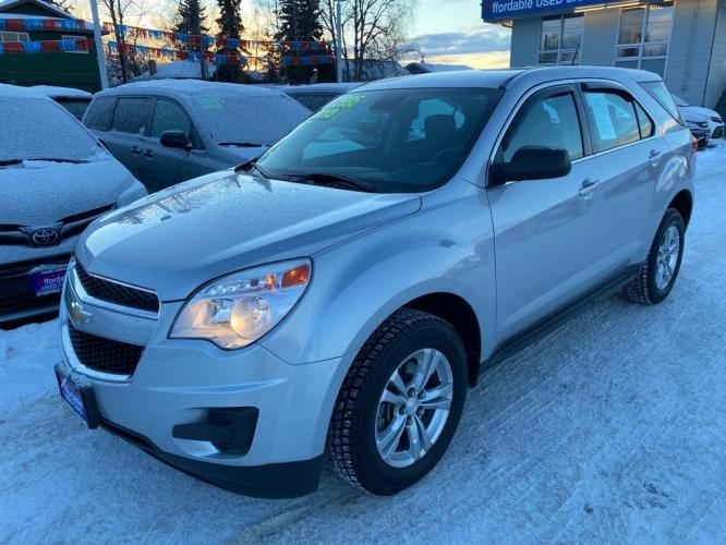 2013 SILVER CHEVROLET EQUINOX LS (2GNFLCEK0D6) with an 2.4L engine, Automatic transmission, located at 929 East 8th Ave, Anchorage, 99501, (907) 274-2277, 61.214783, -149.866074 - Photo #0