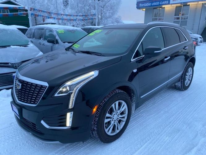 2020 BLACK CADILLAC XT5 PREMIUM LUXURY (1GYKNDRS6LZ) with an 3.6L engine, Automatic transmission, located at 929 East 8th Ave, Anchorage, 99501, (907) 274-2277, 61.214783, -149.866074 - Photo #0