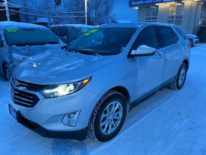 2019 SILVER CHEVROLET EQUINOX LT LT (2GNAXUEV5K6) with an 1.5L engine, Automatic transmission, located at 929 East 8th Ave, Anchorage, 99501, (907) 274-2277, 61.214783, -149.866074 - Photo #0